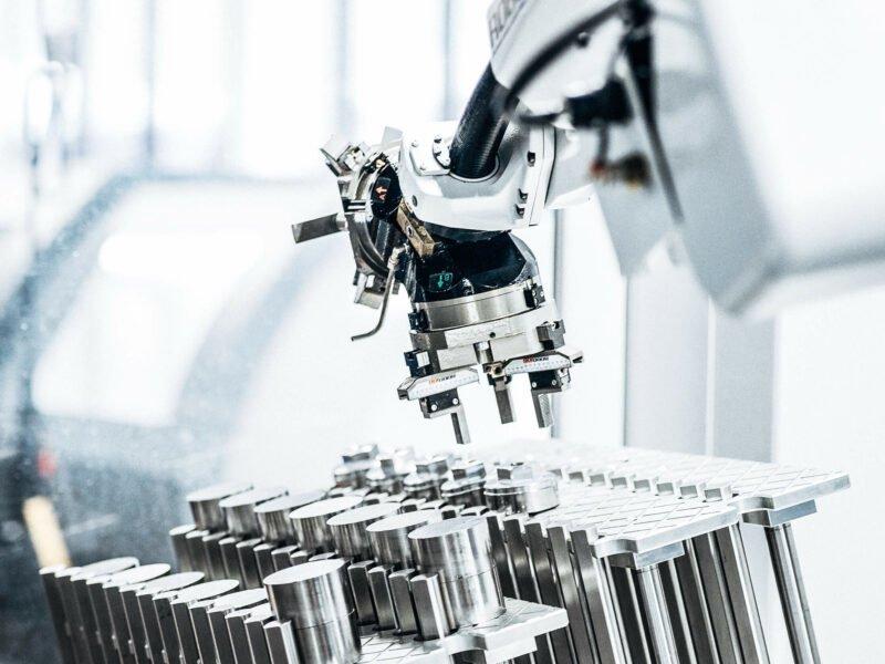 Roboter / Automation im Drehbereich