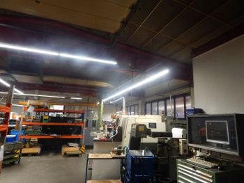 Modernisierung der Werkhallen 1 und 3
