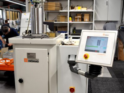 Inbetriebnahme unserer Nutenziehmaschine FRÖMAG CNCE-32-2-PPC