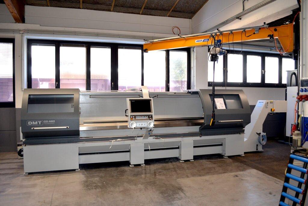 Grossdrehmaschine DMT 480x3000
