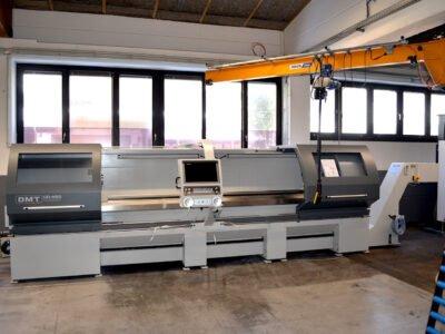 Unsere neue Großdrehmaschine DMT 480 x 3000 kommt