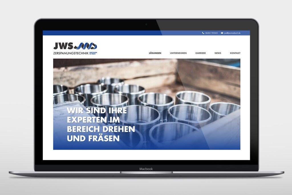 Neue Website der JWS